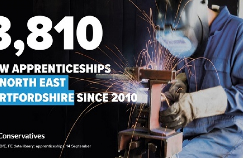Apprenticeships in North East Herts