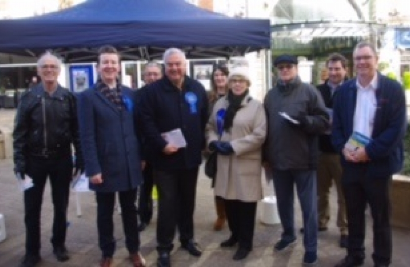 Campaigning in Letchworth Garden City