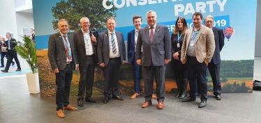 North East Herts Team at Conservative Party Conference